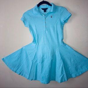 Turquoise Blue Ralph Lauren Polo Dress